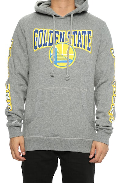Mitchell & Ness Warriors Visiting Team Hoody Grey