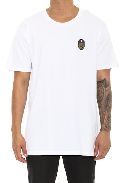 Goat Crew Chano the Rapper Mini Head Tee White
