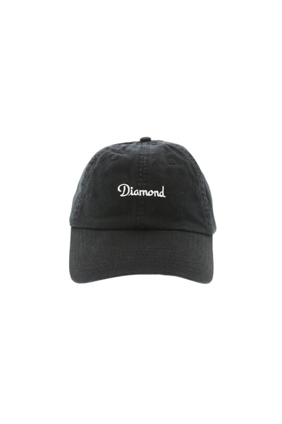 Diamond Supply Champagne Strapback Black