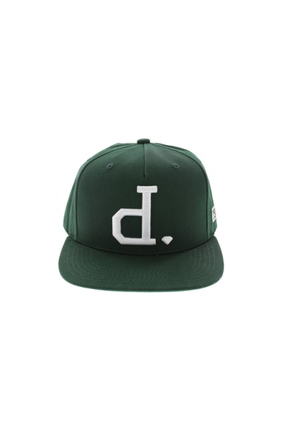 Diamond Supply Unpolo Snapback Dark Green