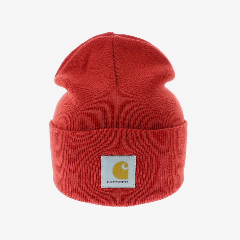 Carhartt Acrylic Watch Beanie Red – Culture Kings e64d00bae88