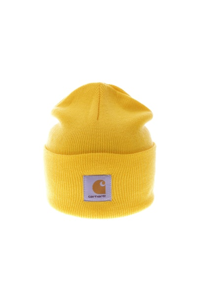 Carhartt Acrylic Watch Beanie Yellow
