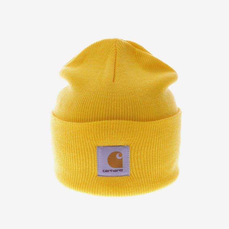 Carhartt Acrylic Watch Beanie Yellow – Culture Kings 30826ca482e9