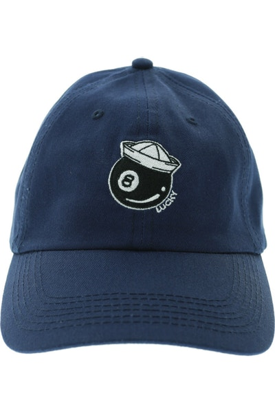 Rats Get Fat Lucky Polo Strapback Navy