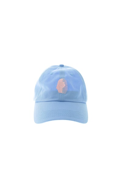 Last Kings Precurved Strapback Blue/pink