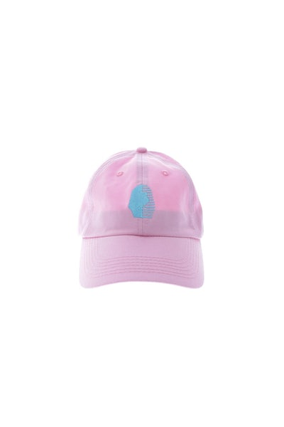 Last Kings Precurved Strapback Pink/blue