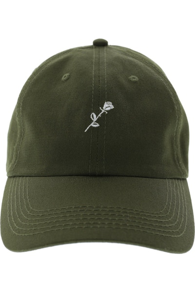 Rats Get Fat Meaningless Polo Strapback Olive