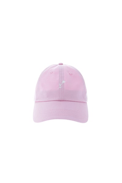 Rats Get Fat Meaningless Polo Strapback Pink