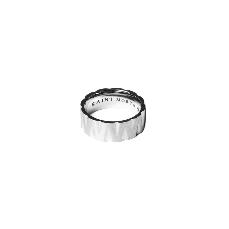 Saint Morta Slasher Ring Silver