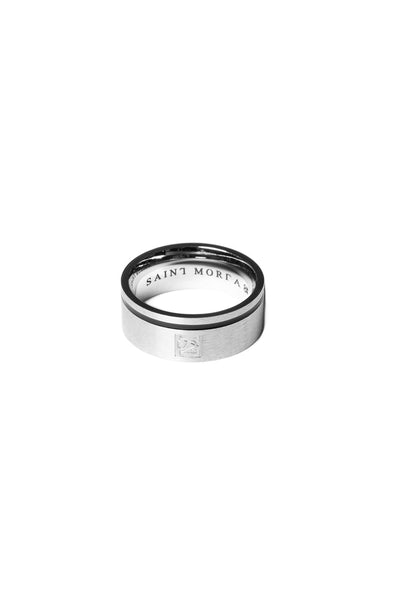 Saint Morta Mono Ring Silver