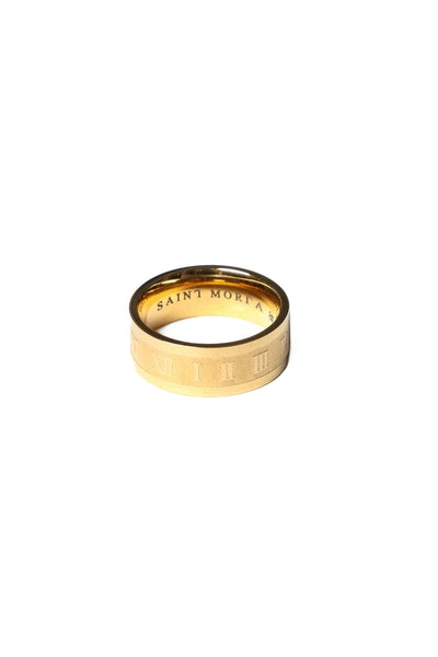 Time Keeper Ring Gold