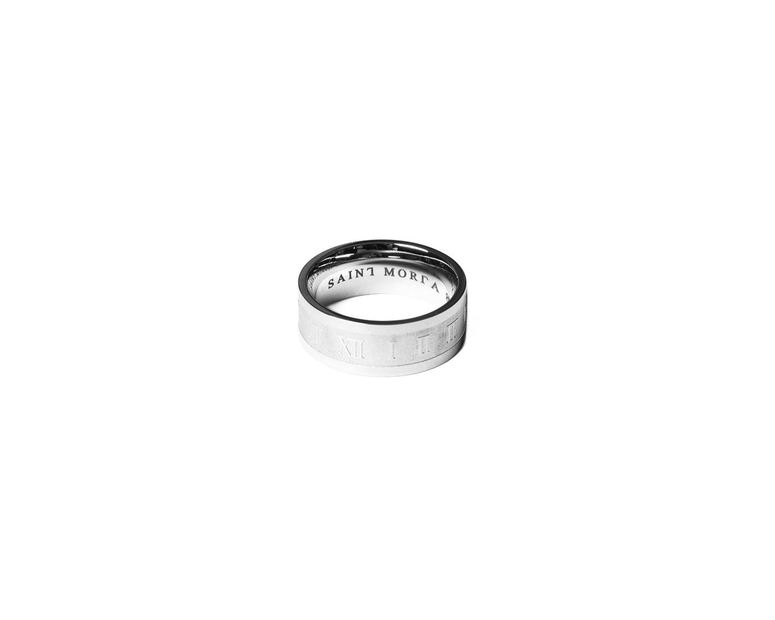 Saint Morta Time Keeper Ring Silver