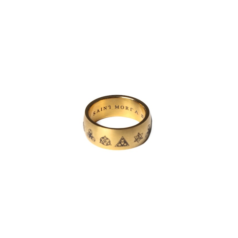 Saint Morta Alchemist Ring Gold