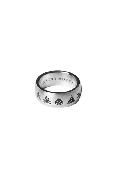 Saint Morta Alchemist Ring Silver