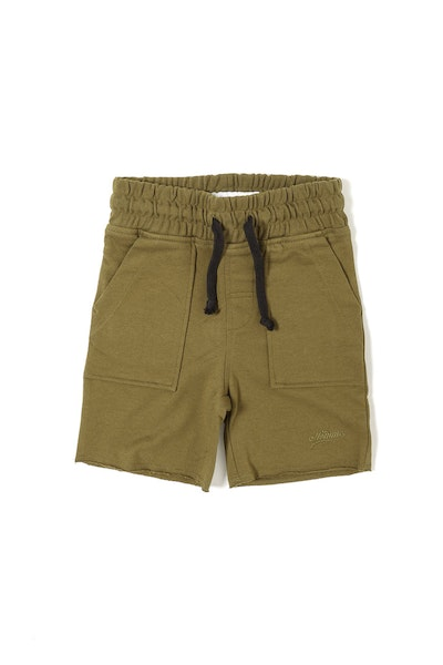 LH Terry Short Olive
