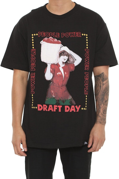 Draft Day Fruits Tee Black