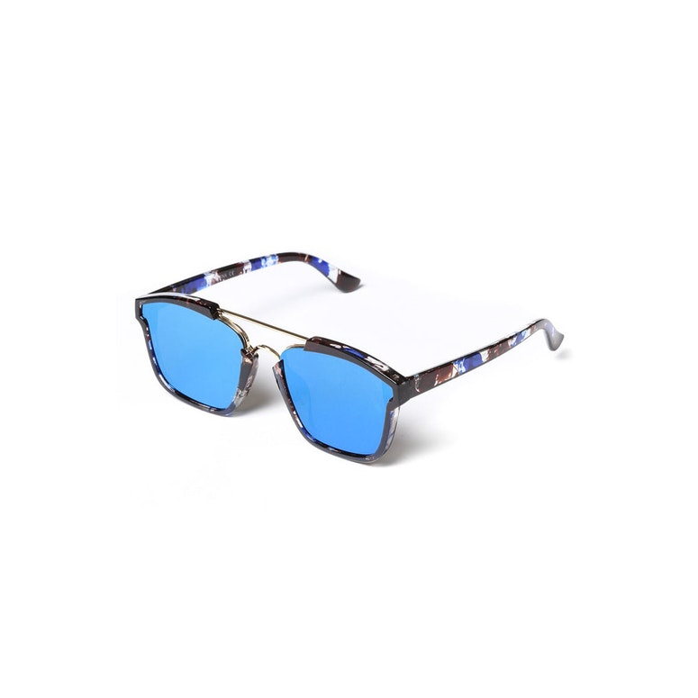 Yhf Los Angeles Do Not Disturb Sunglasses Marble Blue