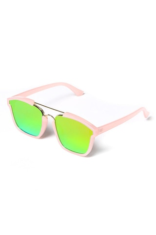 Yhf Los Angeles Do Not Disturbed Sunglasses Pink