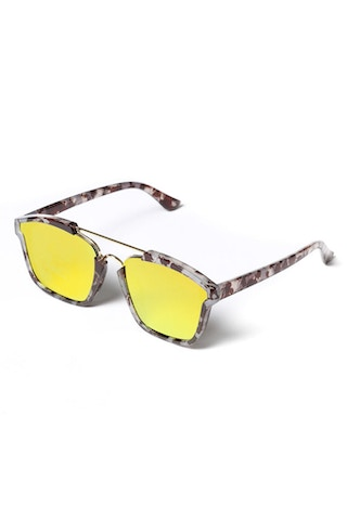 Yhf Los Angeles Do Not Disturbed Sunglasses Turtoise/Yellow