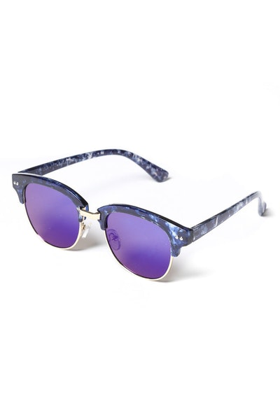 Yhf Los Angeles Dazed Mirror Flat Lens Blue