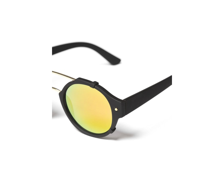 Yhf Los Angeles Cascade Revo Sunglasses Black/yellow