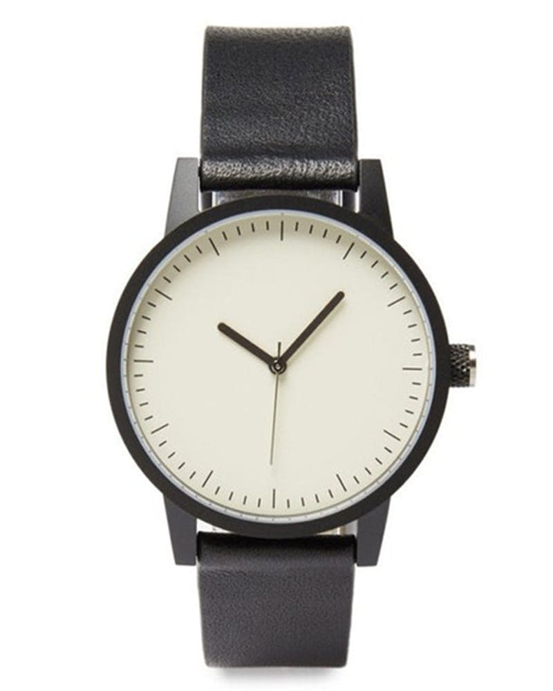 Simple Watch Co. Kent 38 Black/White/Black