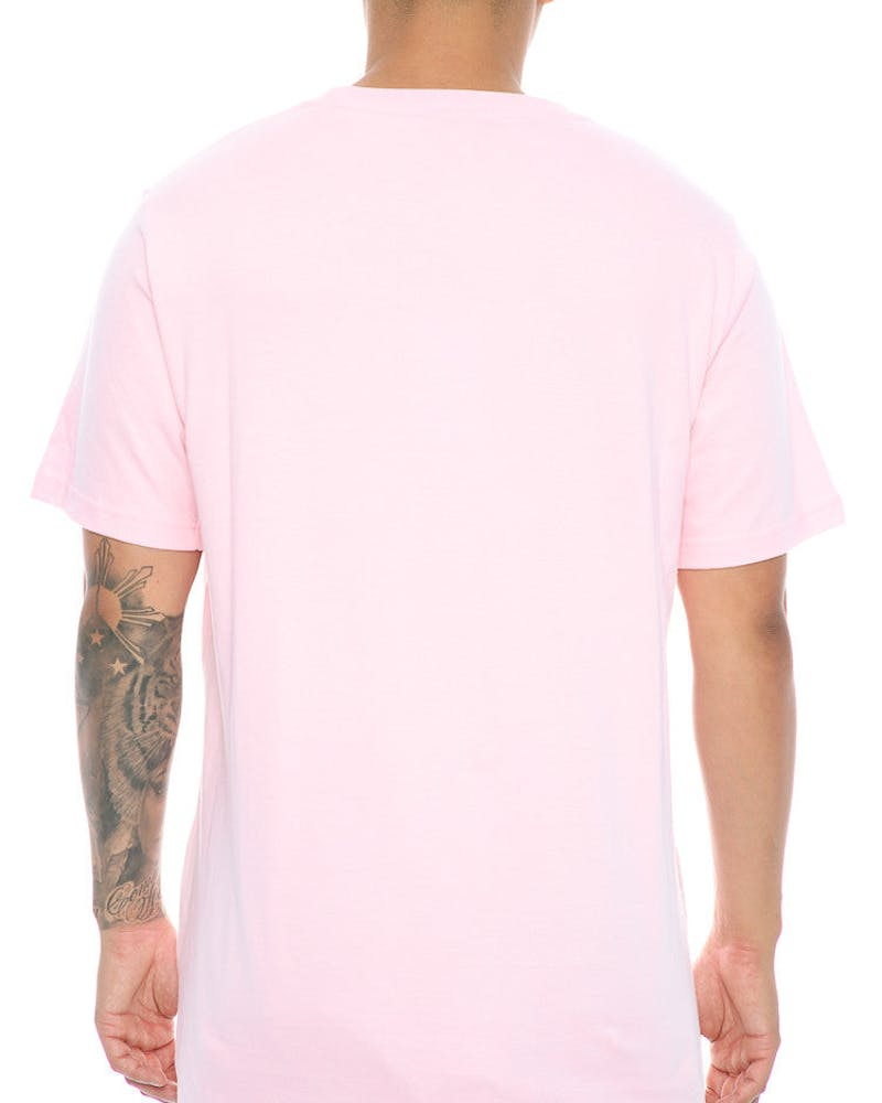 Lower Cloister QRS Tee Pink