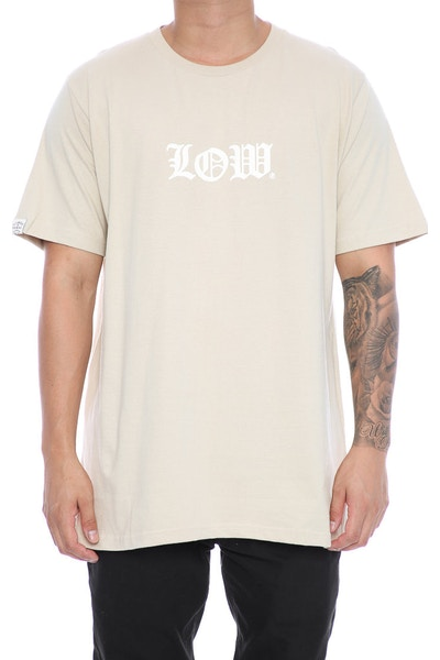 Lower Cloister QRS Tee Tan