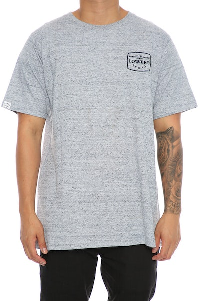 Lower TV Party QRS Tee Grey