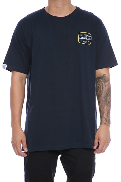 Lower TV Party QRS Tee Navy