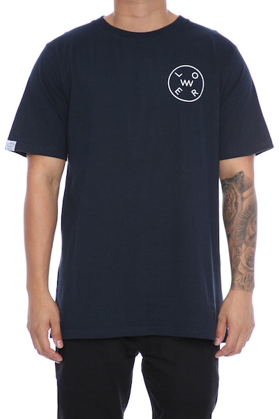 Lower Rotate QRS Tee Navy