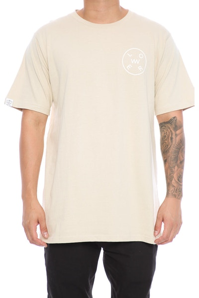 Lower Rotate QRS Tee Tan