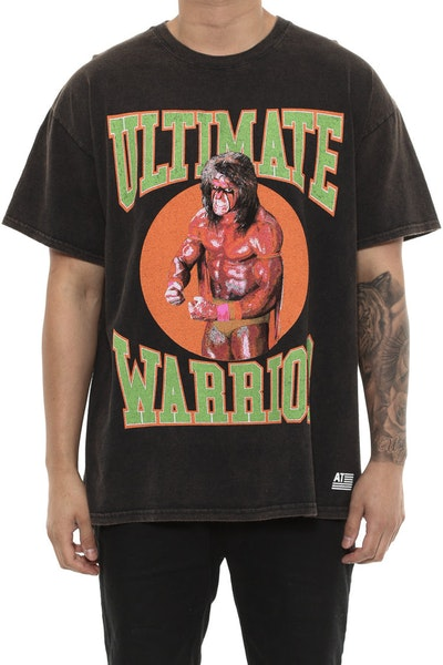American Thrift Ultimate Warrior Vintage Tee Black