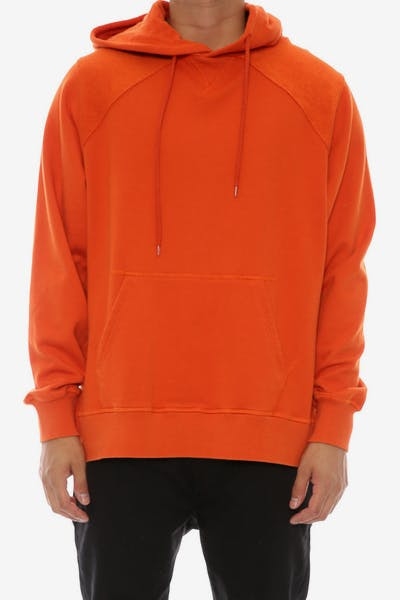 Civil Regime Rowley Raglan Hood Orange
