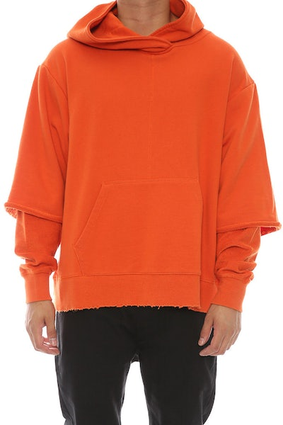 Civil Regime Owens Pullover Hood Orange