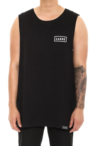 Carre Iconic Muscle Tee Black