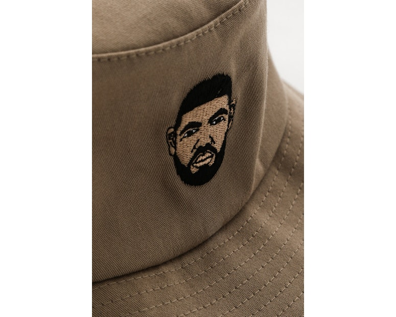 Goat Crew Drizzy Bucket Hat Tan