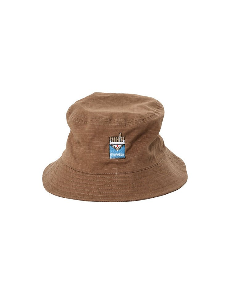 Goat Crew Winnieblue Bucket Hat Tobacco