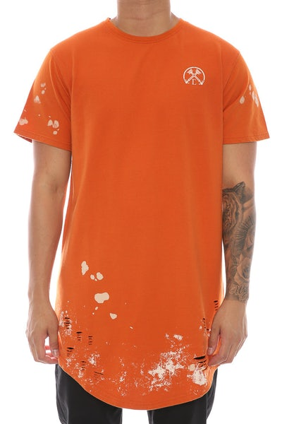 Civil Regime Through Hell & Back Drop Tee Orange