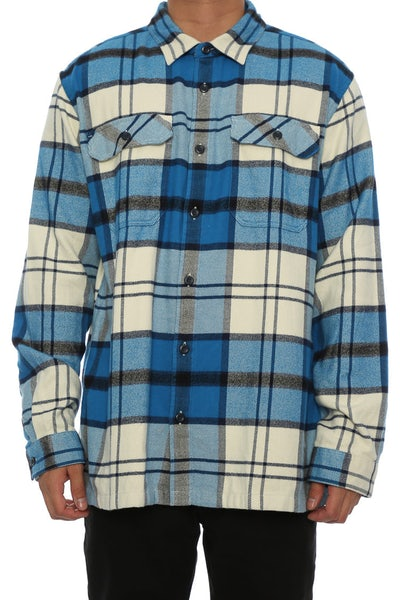 Patagonia Fjord Flannel White/blue