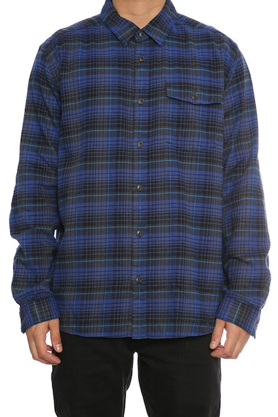 Patagonia Fjord Light Weight Flannel Navy