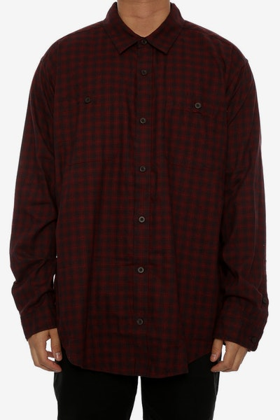 Patagonia Pima Button up Red