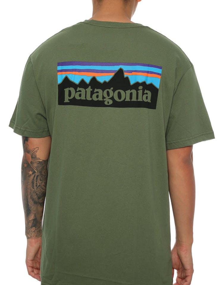 6ab46706cb7 Patagonia P-6 Logo Tee Army Green – Culture Kings