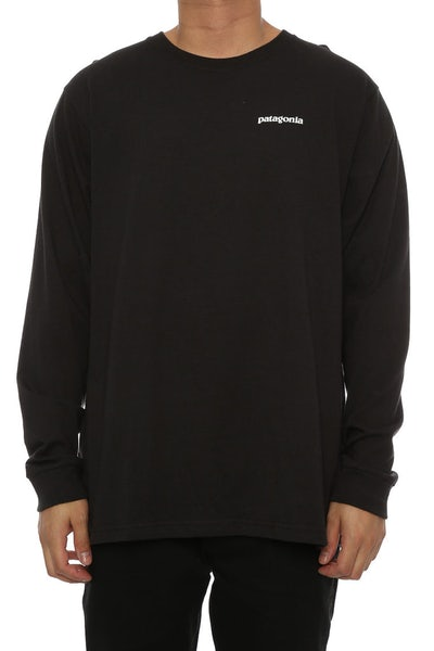 P-6 Logo Long Sleeve Black