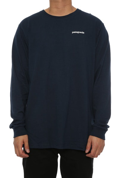 P-6 Logo Long Sleeve Navy