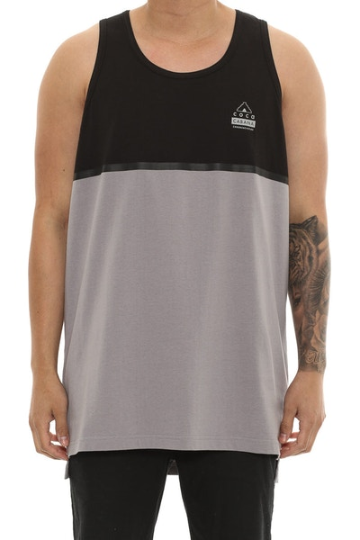 Crooks & Castles Coca Cabana Tank Black/grey
