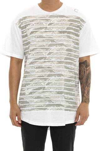 Crooks & Castles Amazon Shadow Tee White