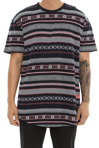 Crooks & Castles Lost Tribe Tee Navy/multi-colo