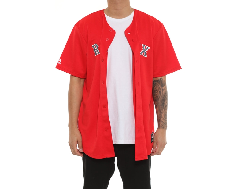 Majestic Athletic Red Sox Replica Jersey Red