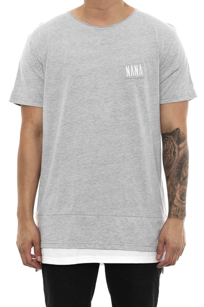 Jervis Tee Grey/white